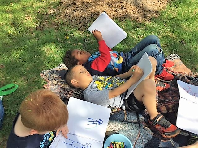 preschool-journaling-outside-2