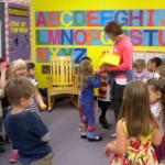 a classroom at Tiny Tots and Little Tykes